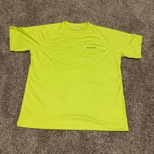Men's Columbia Neon Shirt Size Large in Great Con!